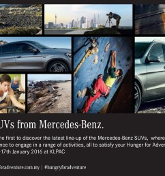 mercedes benz open day for those hungry for adventure  [ 1024 x 774 Pixel ]