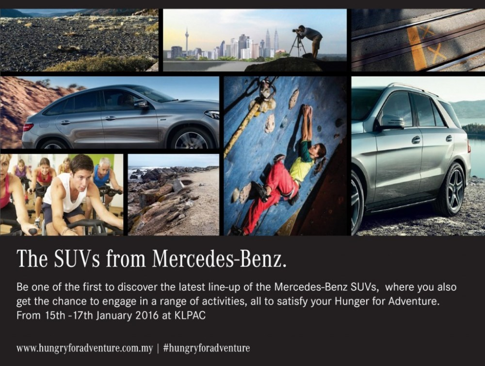 medium resolution of mercedes benz open day for those hungry for adventure