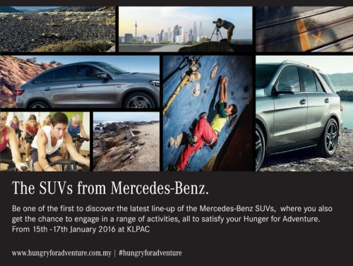 small resolution of mercedes benz open day for those hungry for adventure