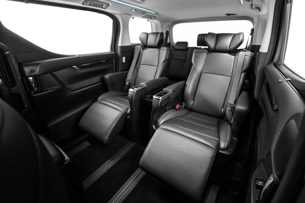 all new vellfire interior 2008 toyota yaris trd parts alphard and 2016 launched carsifu 2 5 captain seats
