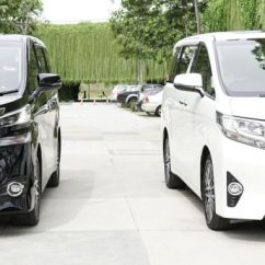 All New Alphard Vs Vellfire Grand Avanza E 1.3 Toyota And Compared Carsifu Regarding Ride Handling The Run On 18 Inch Wheels With Tyres Sized 235 50 Are Quite Planted When Tackling Road Curves