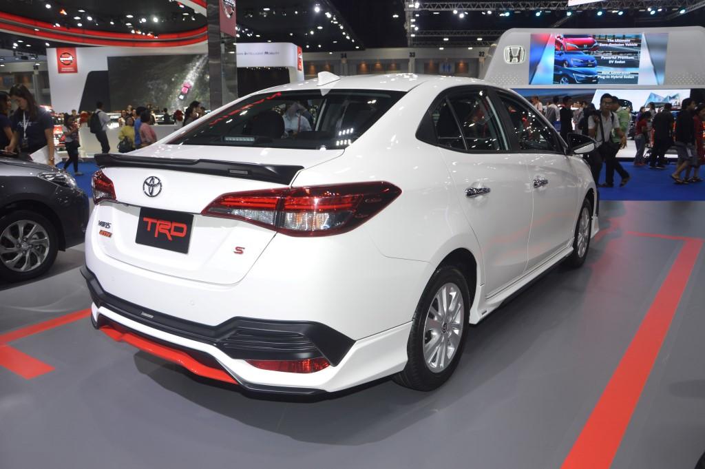 toyota yaris trd grand new avanza 1.3 e std 2018 bangkok motor show ativ in kit carsifu 8