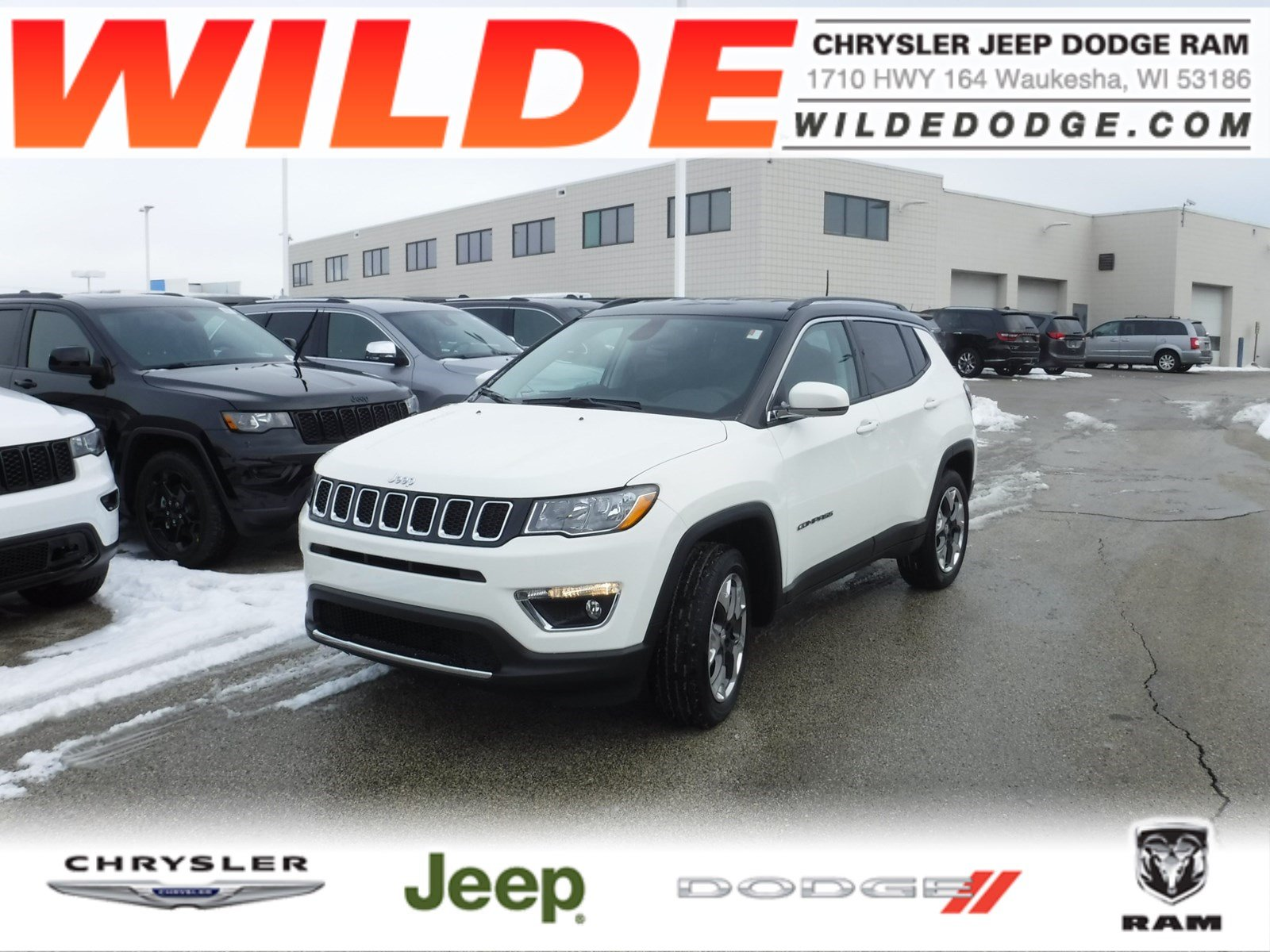 New 2019 Jeep Compass Limited Suv In 24473 Wilde Automotive Group