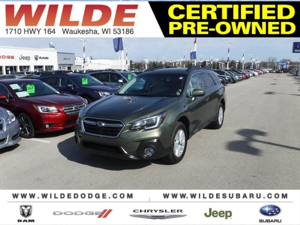 medium resolution of certified pre owned 2018 subaru outback premium
