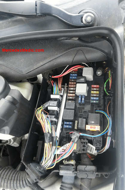 wiring diagram for relays 12 volt start capacitor fuses & e-class 2003-2008 w211