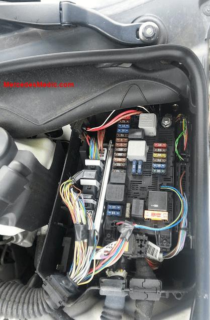 12 volt fan relay wiring diagram trim pump fuses & relays e-class 2003-2008 w211