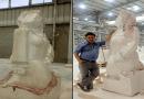 """فن أم قبح؟.. """"مصر تنهض"""" فصل جديد من التماثيل المشوهة في مصر"""