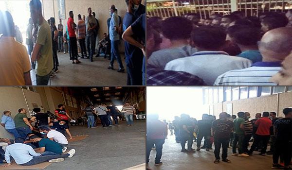 بالصور | استمرار إضراب عمال لورد بالإسكندرية لليوم الثالث.. ومحاولات لتأسيس نقابة للدفاع عنهم