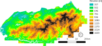 LiDAR-derived Vegetation Canopy Structure, Great Smoky ...
