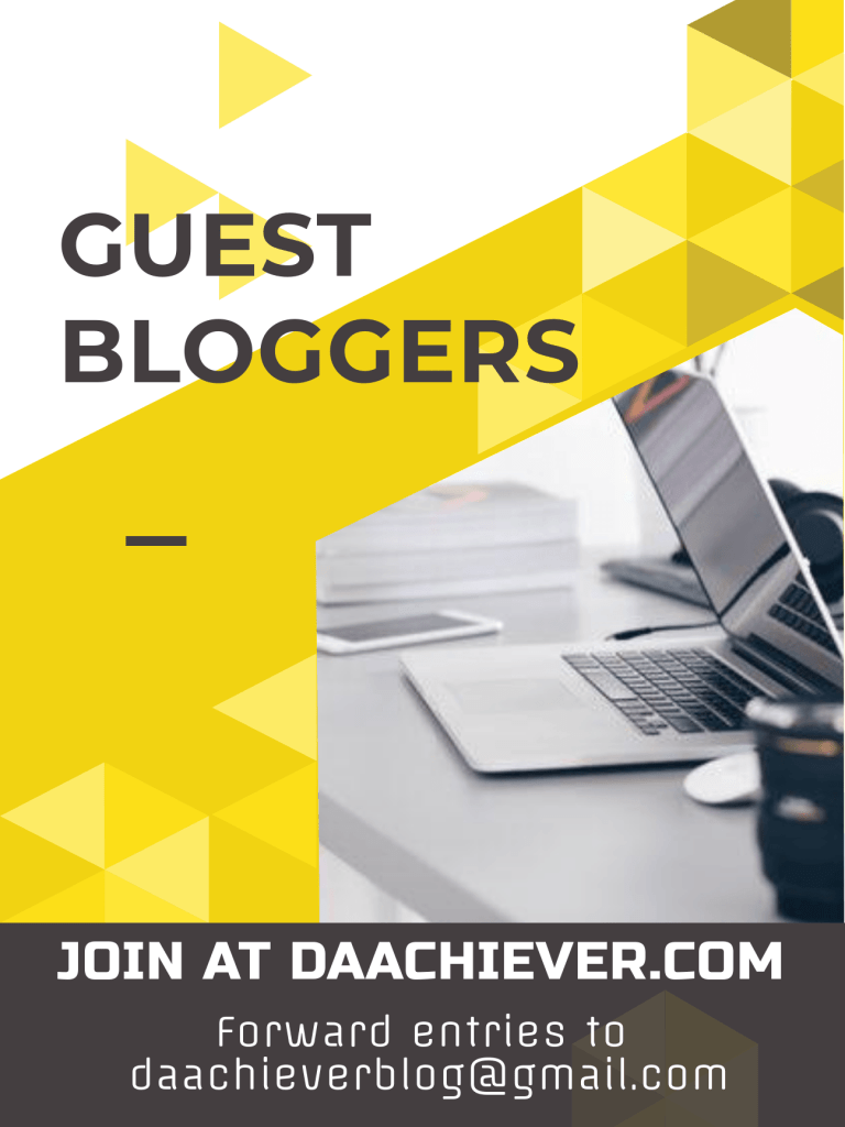 guest blogging with daachiever
