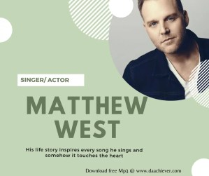 MATTHEW WEST: BEHIND THE SONGS
