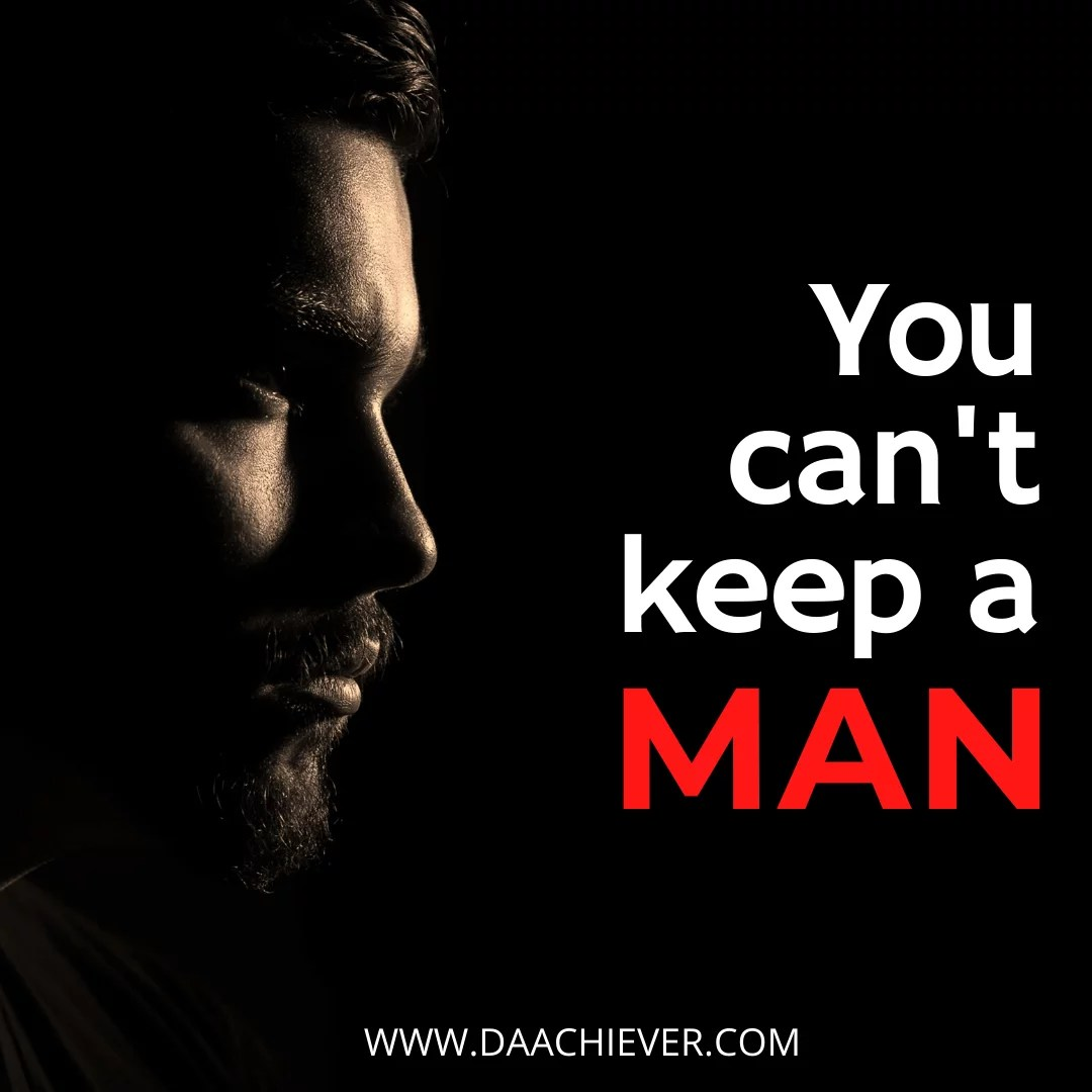 What Christians should never do to keep a Man