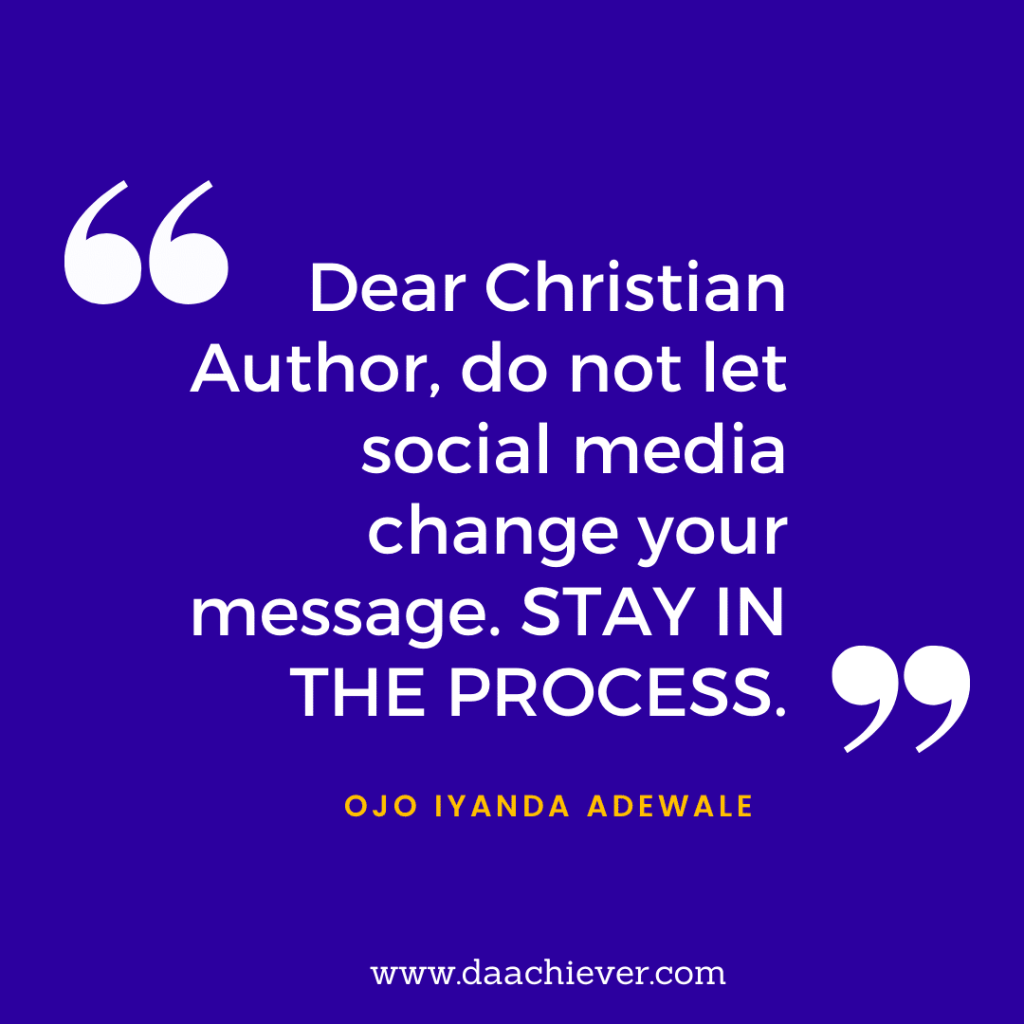 An Interview with Ojo Iyanda on Christian Author's Interview at Daachiever Inc.