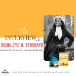 Author's Interview Episode 02 with Temidayo Ogunleye