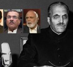 مرحوم صدر ضیا الحق — ضیاء الاسلام انصاری/ مجیب الرحمان شامی/ ہارون الرشید