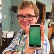 De eerste nieuwe iPhone 6 van Atlanta (2014)