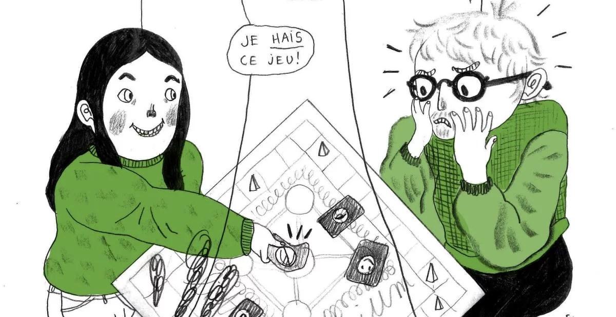 L'illustration de Mathilde