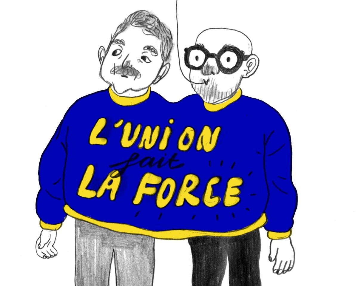 Le dessin de Mathilde: Michel et Vervoort unis ?