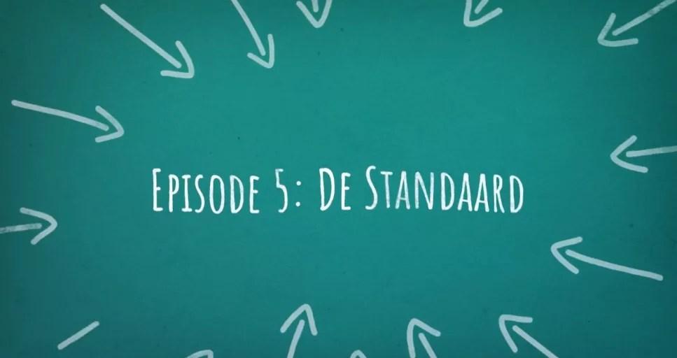 De Standaard expliqué par DaarDaar