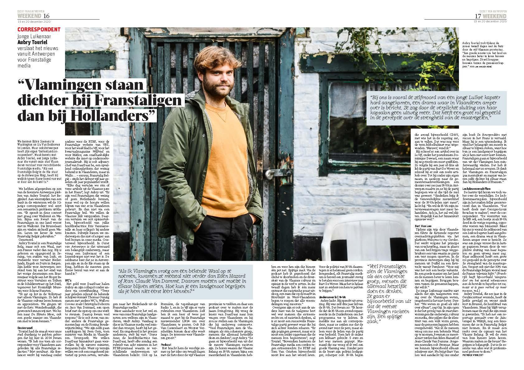 «Les Flamands sont bien plus proches des Belges francophones que des Hollandais»