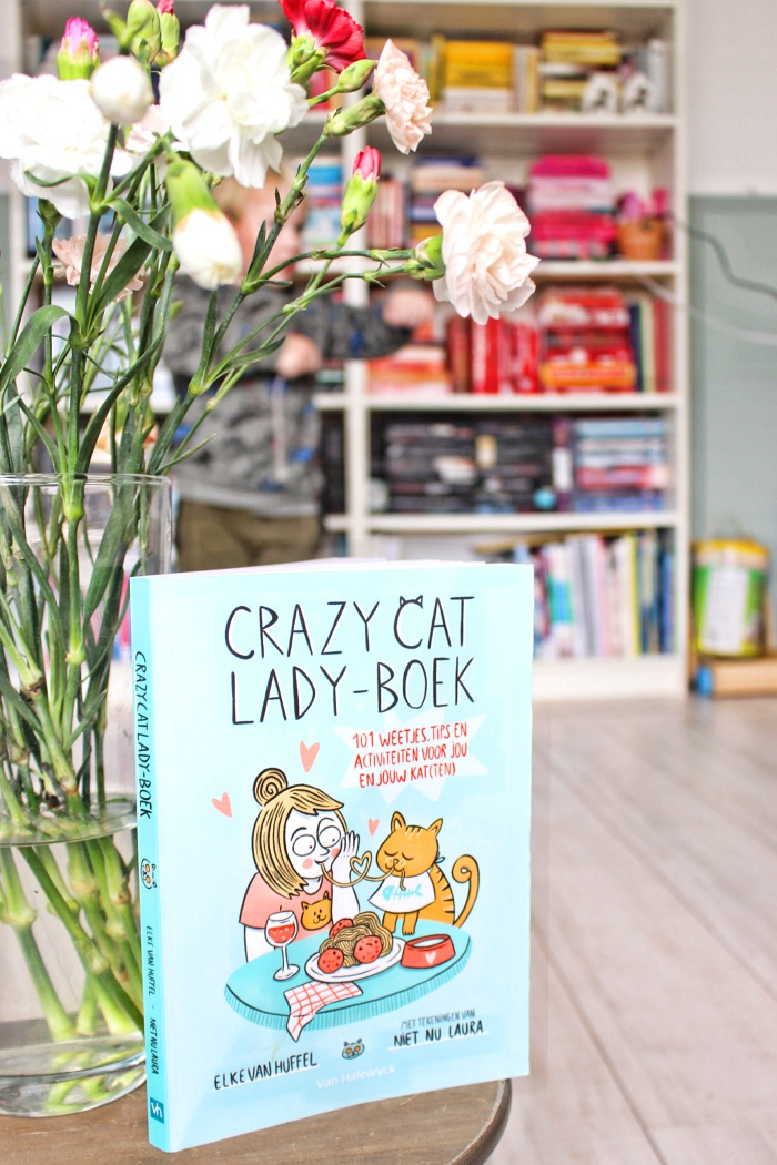 Crazy cat lady-boek
