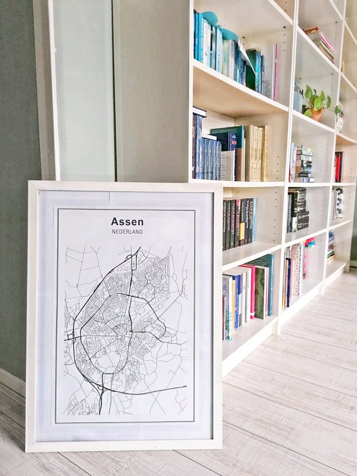 Stadskaart van Assen