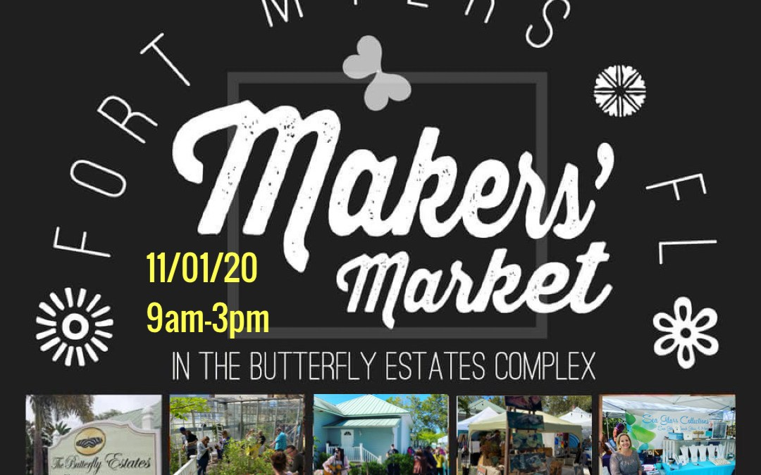 The Makers' Market Event at the Butterfly Estates