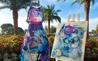 From Canvas to Fashion, the Art of Yvonne Krystman