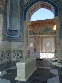 Mausolée de l'Imam Al-Boukhari (rahimahou Allah) à Samarcande