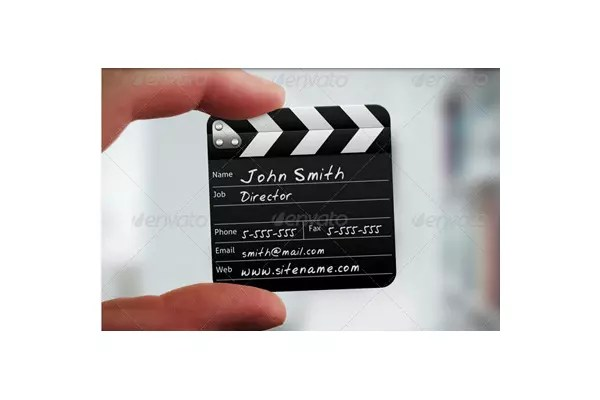 50 Incredible Film And Theater Business Cards SitePoint
