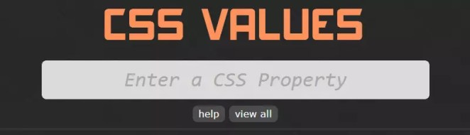 CSS Values