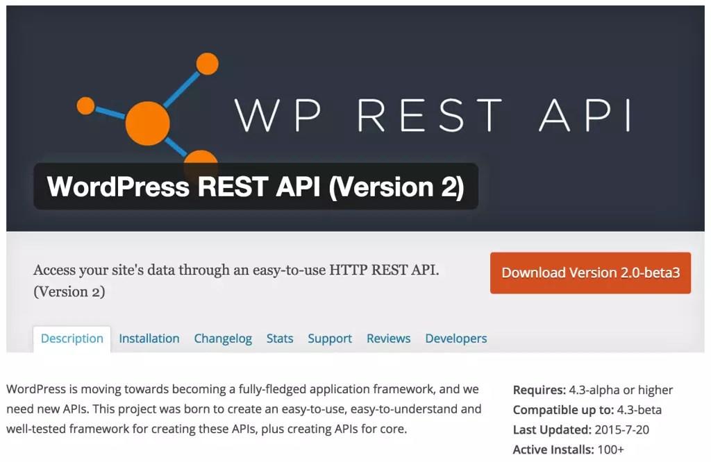WP API - Using the WordPress REST API
