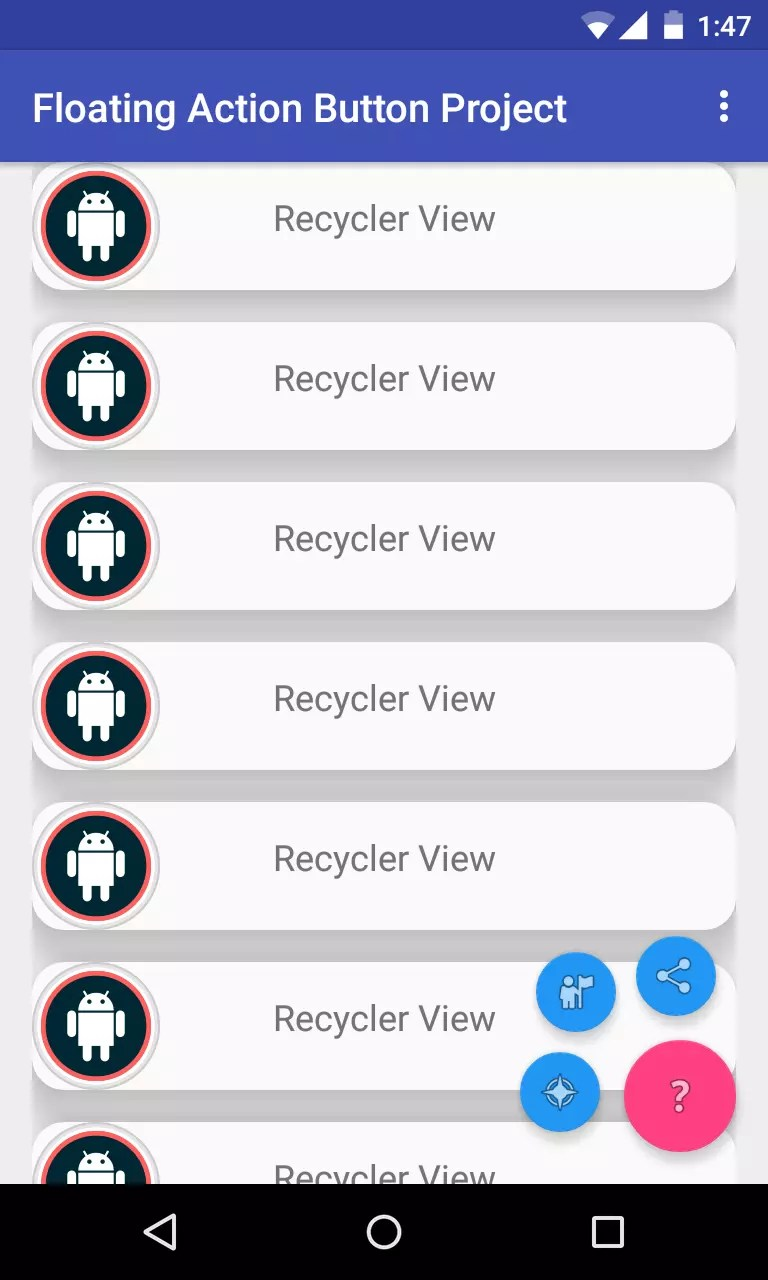 Menu Xml Android Studio