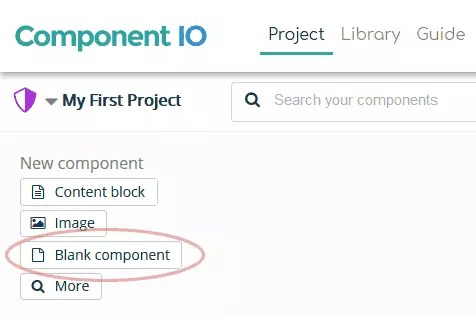 create a new component