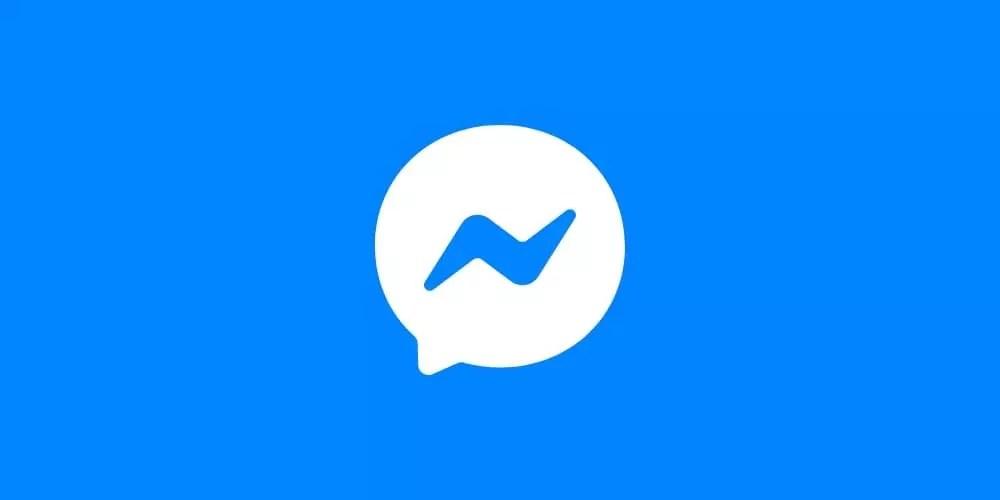 Le logo Facebook Messenger