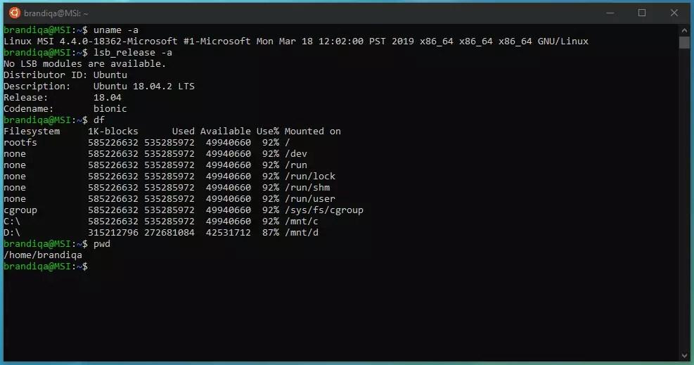 Ubuntu usage commands