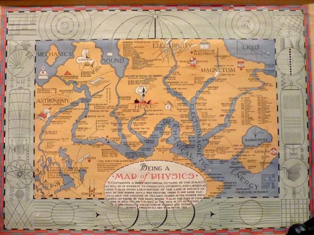 Bernard H. Porter's 1939 Map of Physics