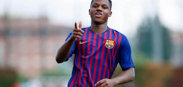 أنسو فاتي (16 سنة) يقترب من اللعب لمنتخب إسبانيا بعد حصوله على الجنسية