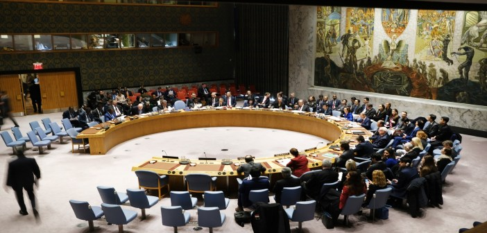 United Nations Holds Security Council Meeting On Upholding UN Charter