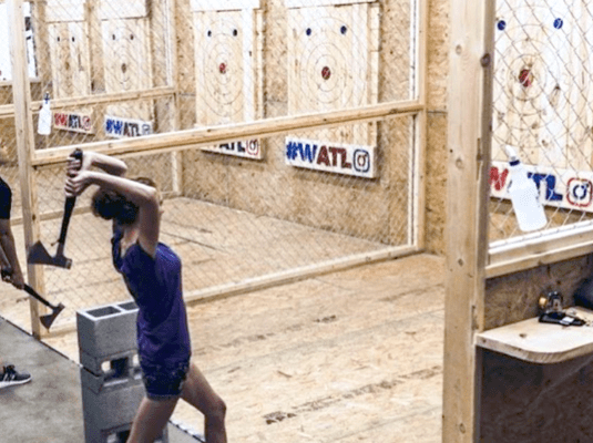 axe throwing classes chicago