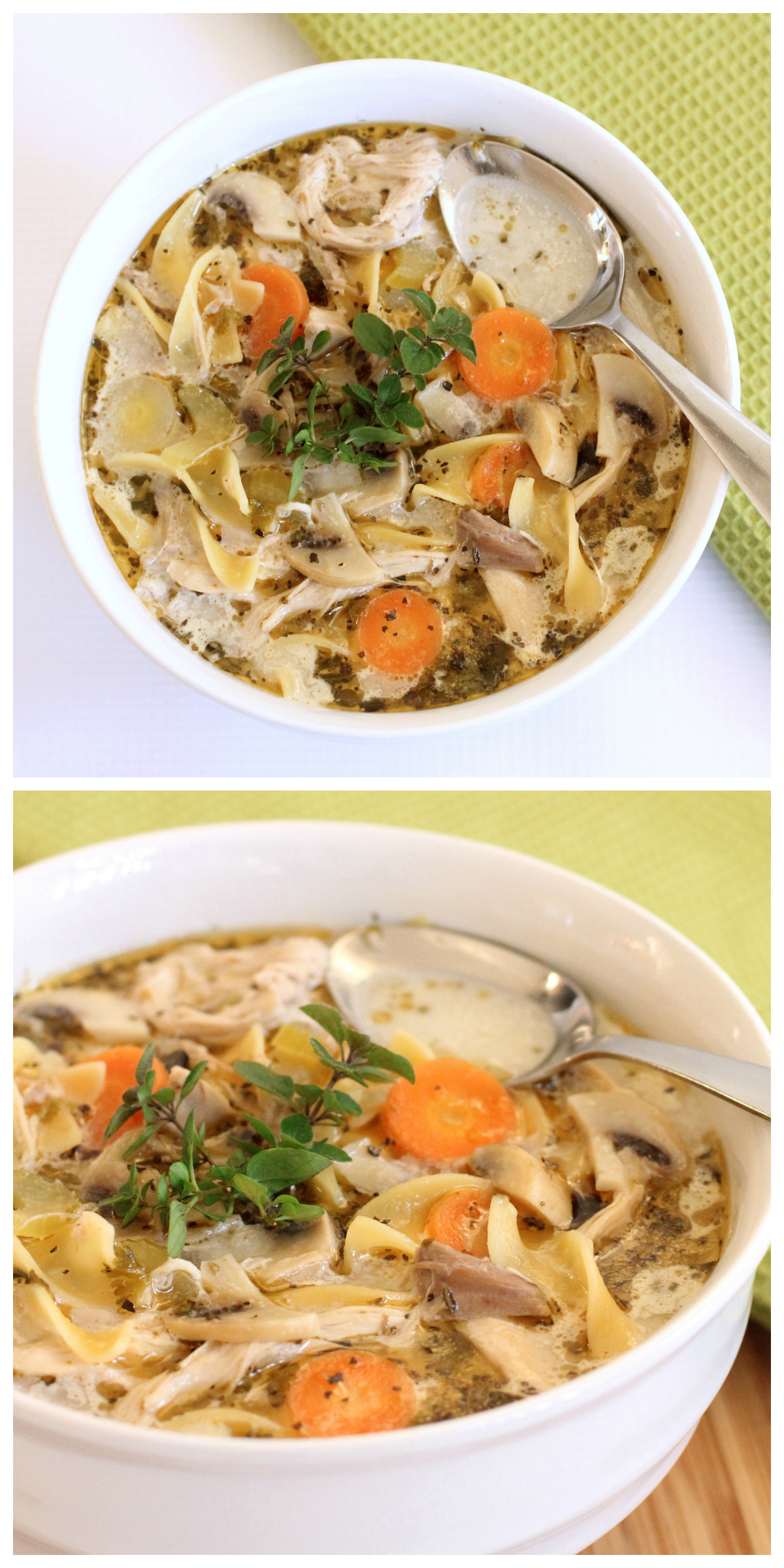 The Best Chicken Noodle Soup You'll Ever Eat!  Dabbles