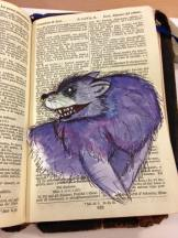 My rat wolf based on Niamh design
