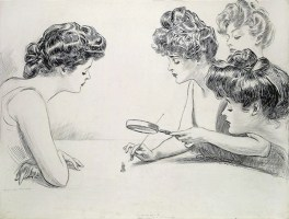The Gibson Girls by Charles Dana Gibson for Life Magazine.