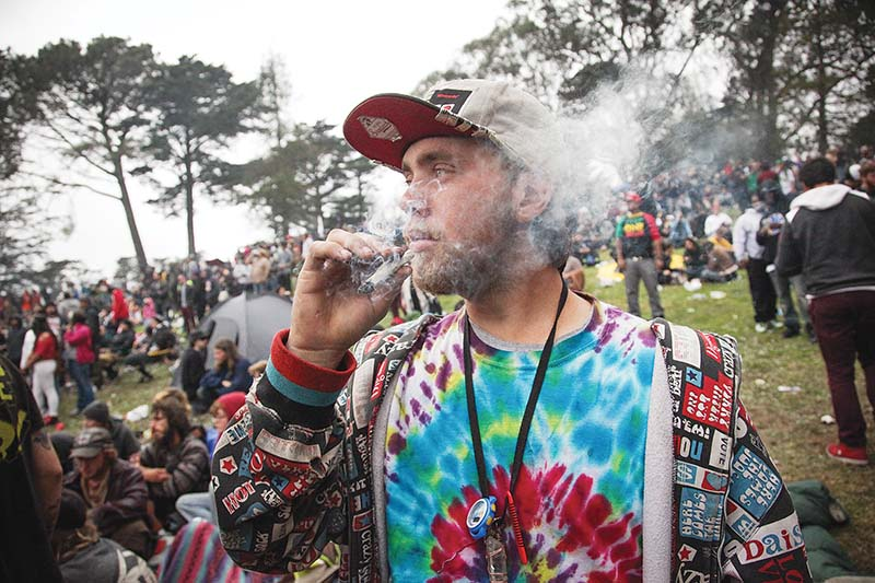 Hippie Hill braces for 15,000 pot smokers