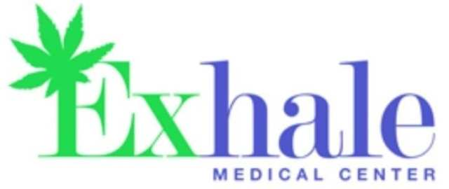 The Exhale Med Center Collective And Dispensary Logo