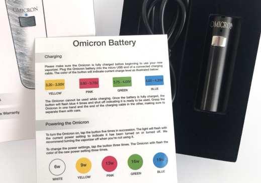 Omicron V5 Battery