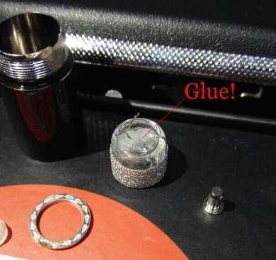 DJ Esco Atomizer has glue