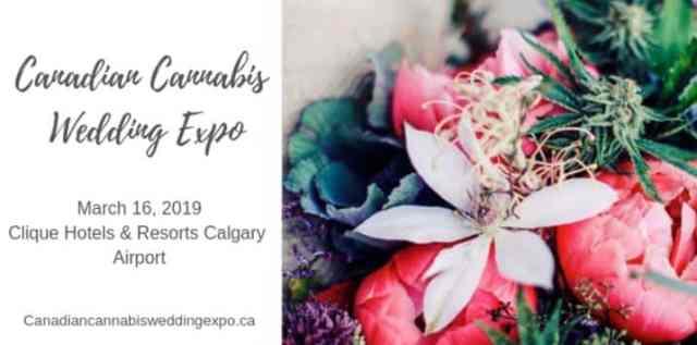 canadian cannabis wedding expo calgary