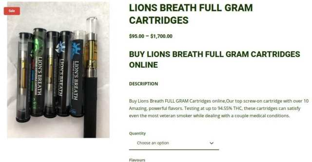 Lion's Breath retail