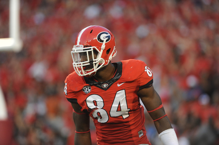 Linebacker Leonard Floyd (84) (Photo by Sean Taylor)
